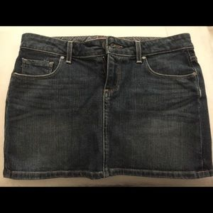 Paige jean skirt.